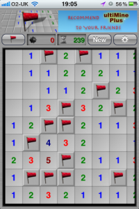 Minesweeper On Your iDevice With Various Tile Shapes In ultiMine Plus