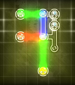 Create Colorful Light Beams By Lining Everything Up In As Few Moves As Possible In Prizma