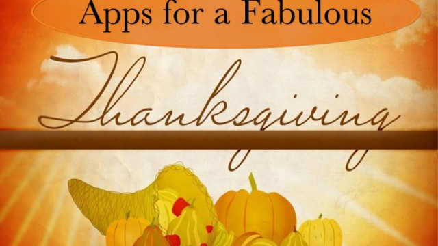 Thanksgiving AppList and AppGuide Roundup