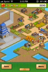 Oh! Edo Towns by Kairosoft Co.,Ltd screenshot