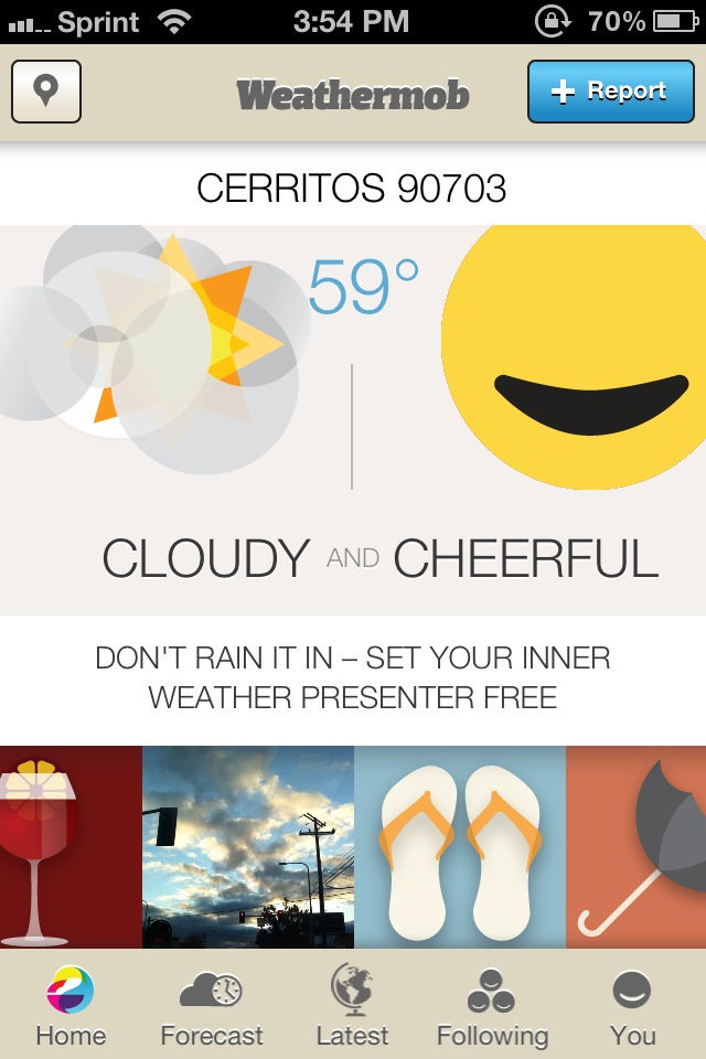 Social Networking And Weather Is Found In Weathermob