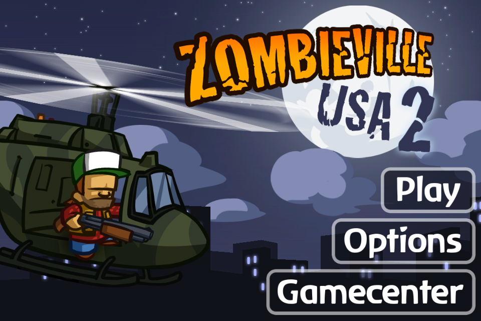Fight Off Hordes Of Undead By Yourself Or With A Friend In Zombieville USA 2