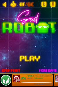 Make Sad Robot Happy By Collecting Coins And Traveling The Galaxy