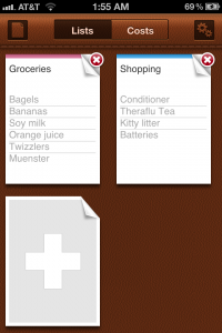 Grocery Mate - Easy to Use Shopping List by i-Free screenshot