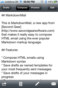 MarkdownMail Updated: Adds Signatures, Templating, Improved User Interface