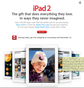 Apple Makes The Holidays Easier With Gift Wrapping And Free Shipping