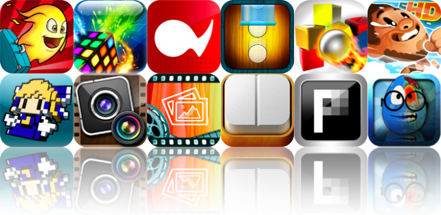 iOS Apps Gone Free: Burn The Rope Worlds, XenoCube SD, Album Flow, And More
