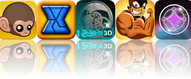 iOS Apps Gone Free: Baby Monkey, TriZen, 3D Cyber Clock, And More