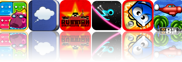 iOS Apps Gone Free: Rolling Kongs, My Daily Dream Journal, Russian Dancing Men, And More