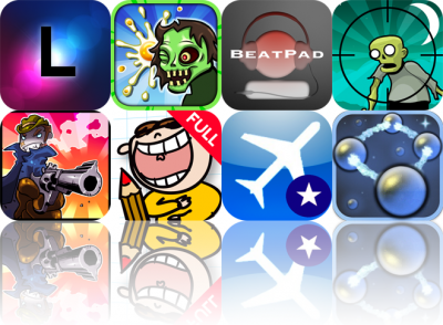 iOS Apps Gone Free: Luminance, Zombie Scramble, BeatPad, And More