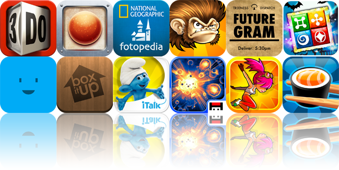 iOS Apps Gone Free: 3do, Reds, Above France, And More
