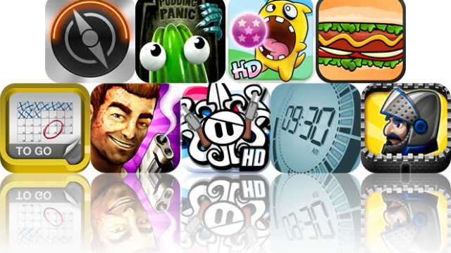 iOS Apps Gone Free: Portal, The Great Jitters: Pudding Panic, Hungribles, And More