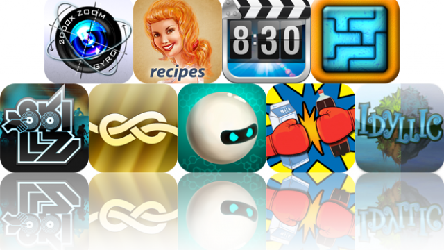 iOS Apps Gone Free: Photoloupe, Recipes Genius, Alarm Clock, And More