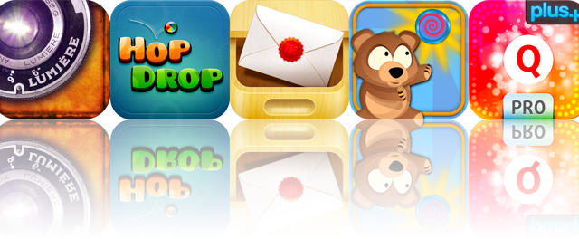 iOS Apps Gone Free: Lumiere, Hop Drop HD, To Me By Me, And More