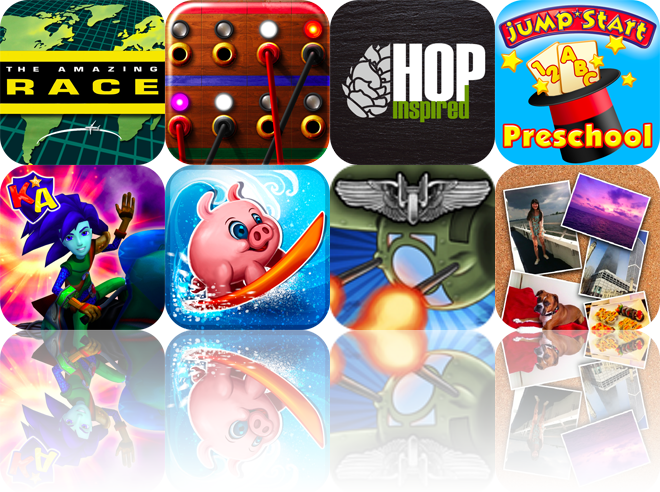 iOS Apps Gone Free: The Amazing Race, Call Connect, HopInspired, And More