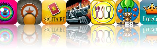 iOS Apps Gone Free: KaleidoVision, NBTD Solitaire, Pebble Jump HD, And More