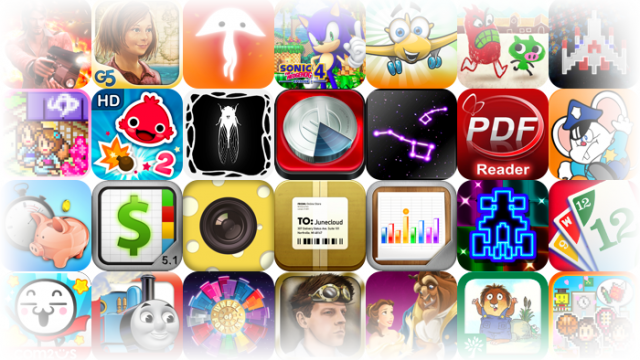 Popular iOS Apps And Games On Sale For A Limited Time - Over 100 To Choose From!