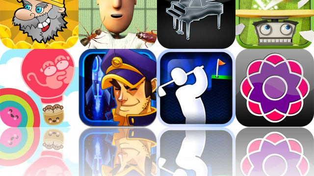 iOS Apps Gone Free: Kevin's Break'em, Super Stickman Golf, Shapemix, And More