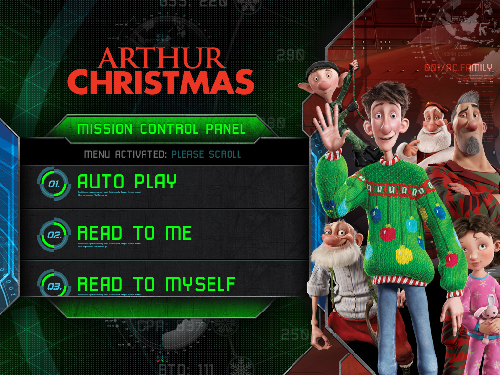 The Hilariously Exciting Adventure Comes To The App Store In iStoryTime's Arthur Christmas Movie Storybook