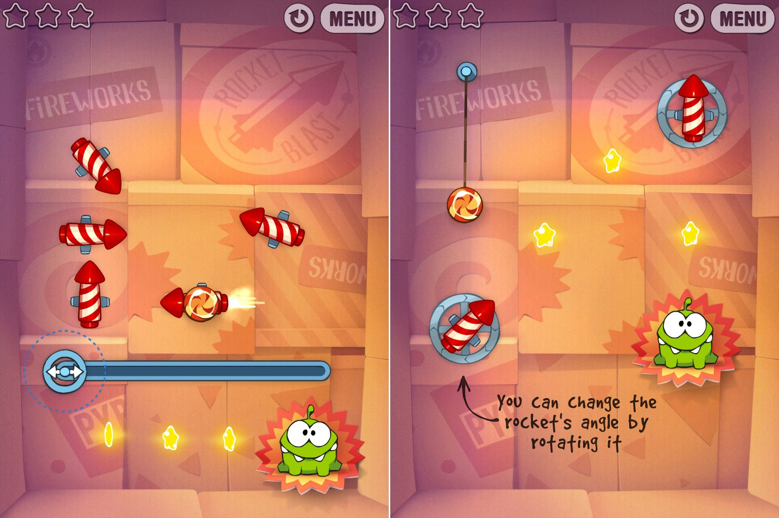 Cut The Rope: Experiments' Rocket Science Update Fails To Launch (Updated)