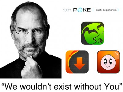 Digital Poke Honors Steve Jobs With A Charitable Donation And Limited Time Sale