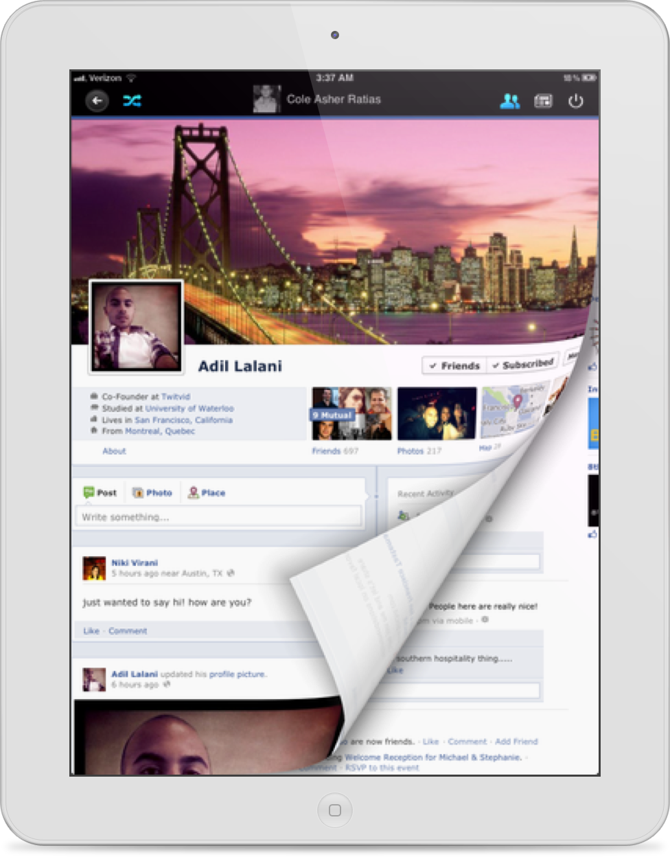 Timelines for Facebook Released