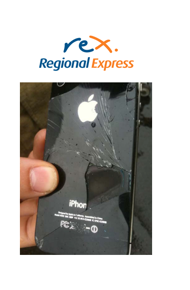 An iPhone 4 Self-Combusts On Australian Flight