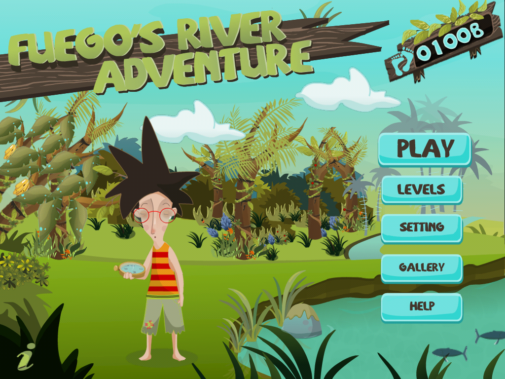Motion Detection Control Comes To iOS Gaming In Crimson Apps' Fuego's River Adventure