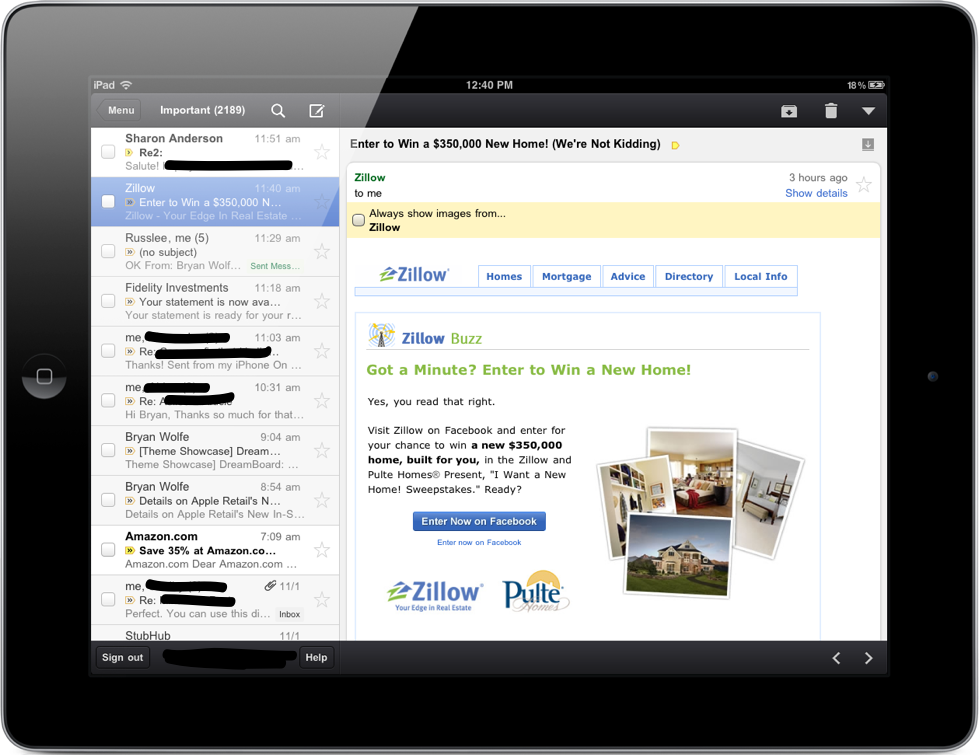 First Look: The Native Gmail App For iDevices [Update: Pulled For Repair]