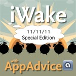 iWake With AppAdvice For 11/11/11 Day Now Available