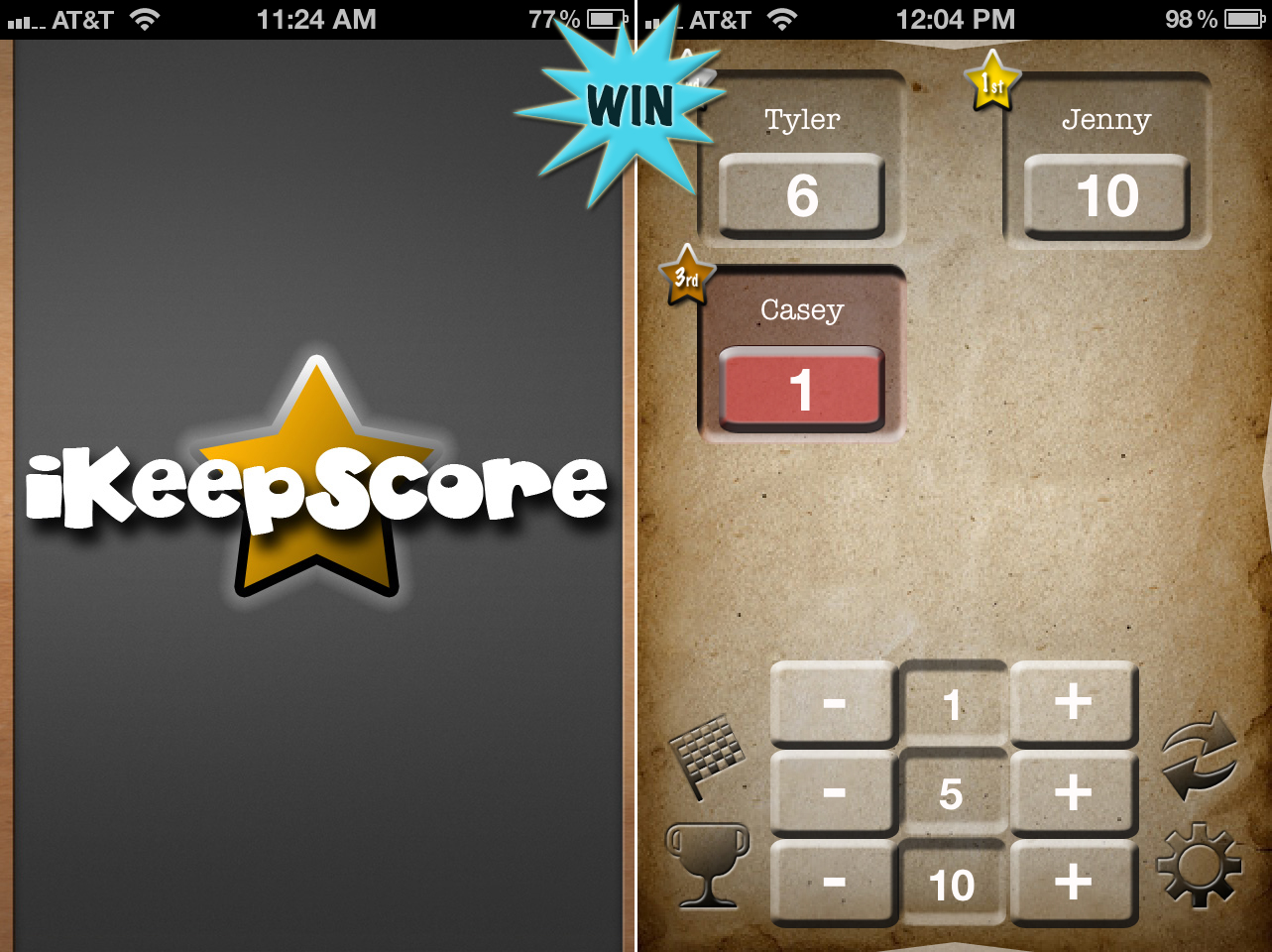 A Chance To Win iKeepScore For iPhone And iPad