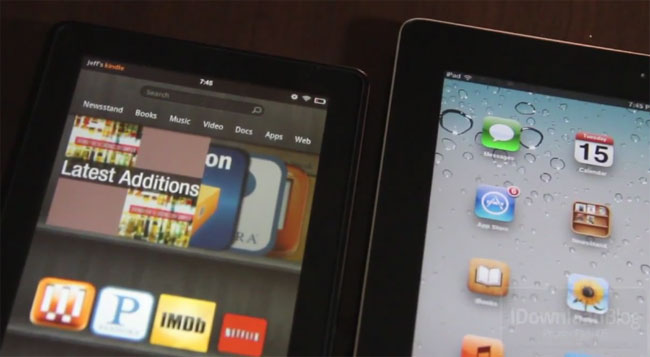 Shoppers After iPads or Kindle Fires This Holiday Season