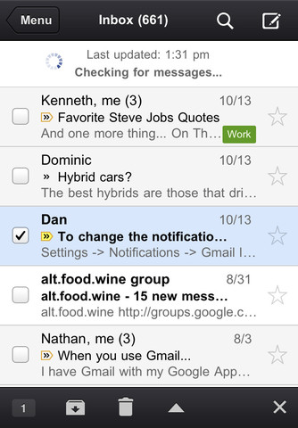 Gmail For iOS Is Back On The App Store - But Don't Update Just Yet