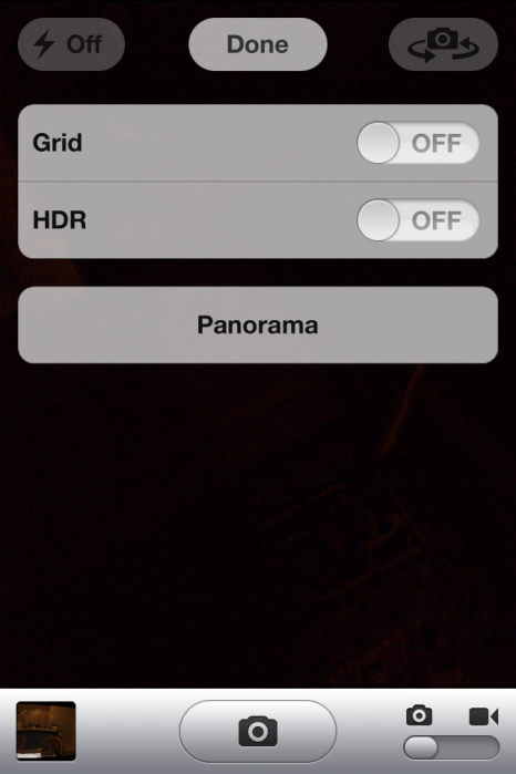 Apple Hides Nearly Complete Panorama Feature In iOS Camera App