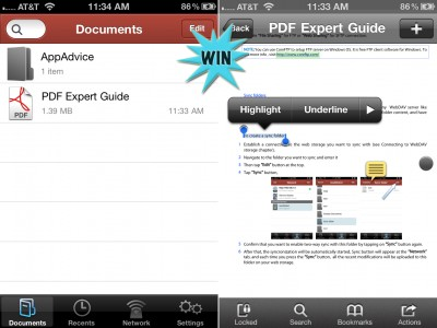 A Chance To Win PDF Expert For iPhone