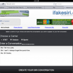 Web App Allows You To Fake Siri Messages