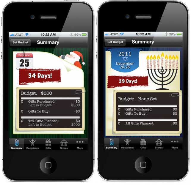 Santa's Bag Christmas Gift List App Arrives And We've Got Promo Codes