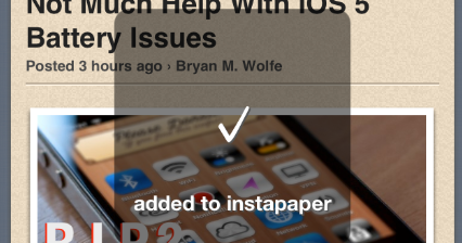 The iOS Academy: Saving AppAdvice Articles To Read Later