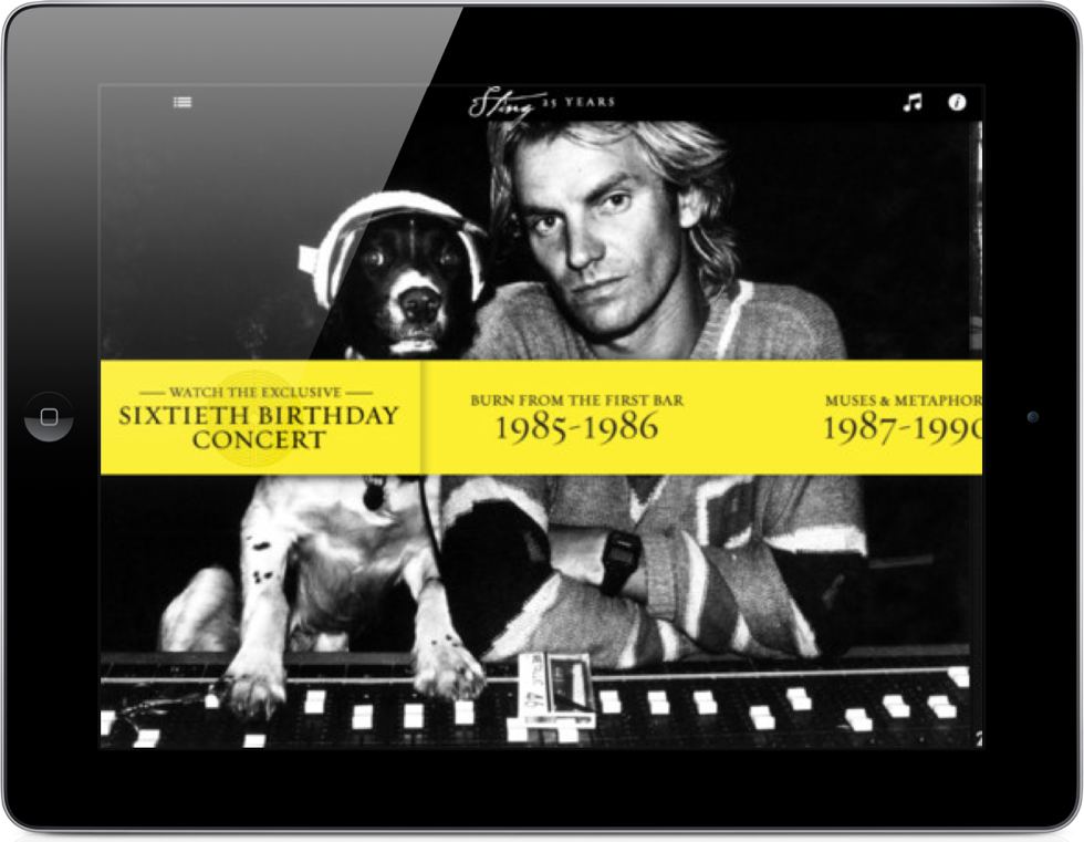 Sting Releases His One Million Dollar App - For Free