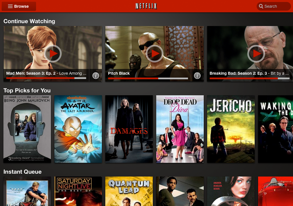 Netflix App Gets UI Overhaul Comes To iPad Soon, Android Tablets Today