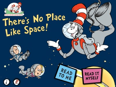 There's No Place Like Space Is The First The Cat In The Hat Learning Library Title To Turn OmBook