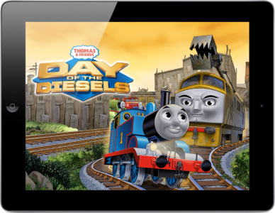 Thomas & Friends: Day of the Diesels Races Into App Store