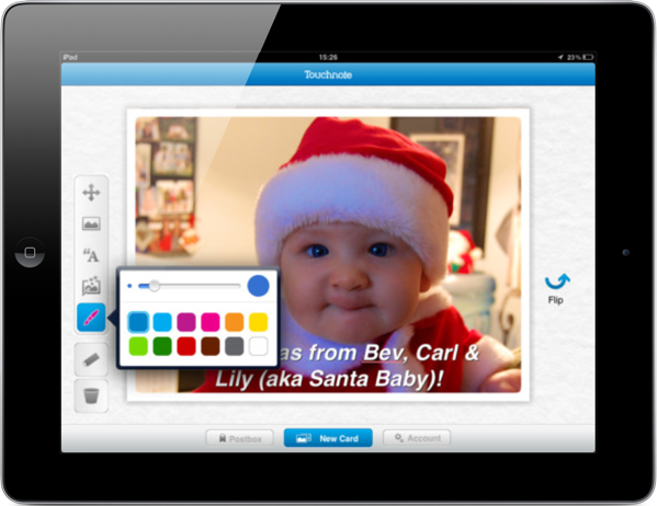 Touchnote Postcards for iPad