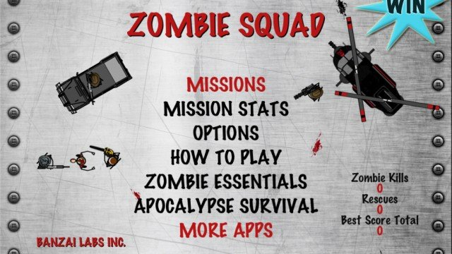 A Chance To Win Zombie Squad For Your iPhone Or iPad