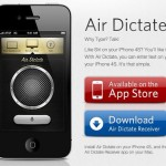 Avatron's Air Dictate Brings Dictation To Macs For iPhone 4S Owners