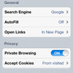 Jailbreak Only: SBSettings Toggle Private Browsing - Enable Private Browsing In SBSettings