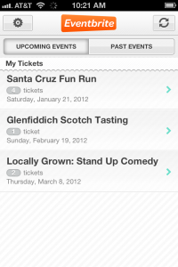 Eventbrite To Release New iPhone App For Tickets And Events