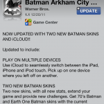Batman Arkham City Lockdown Updated - Adds iCloud Support, Two New Batman Skins, Makes Minor Improvements