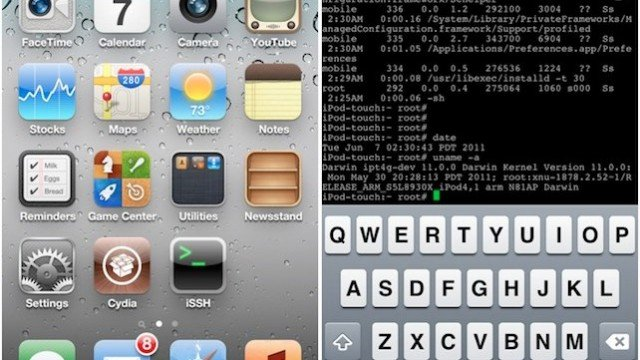 Jailbreak Only: iPhone 3GS, Original iPad, iPod Touch (4G) All Untethered Under iOS 5.0.1