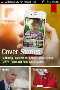 FlipBoard For iPhone Gets A Bump From Apple's Head Of Marketing